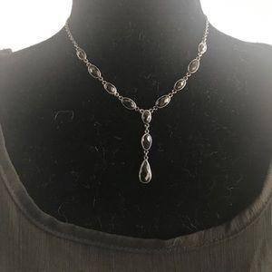 Breathtaking Vintage-Look Trifari Drop Necklace
